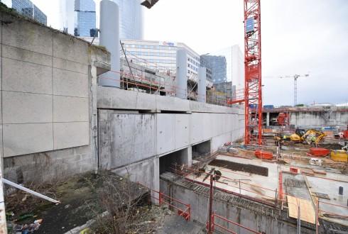 Le chantier Sky Light le 8 février 2016 - Defense-92.fr