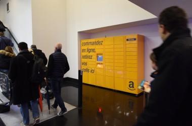 Amazon Locker débarque au Cnit