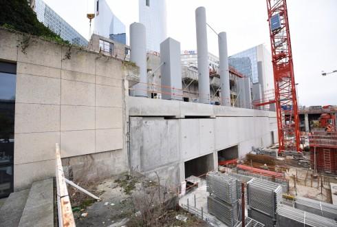 Le chantier Sky Light le 22 février 2016 - Defense-92.fr