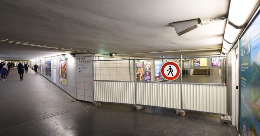Chantier Trinity : le passage par l'avenue de la Division Leclerc est fermé
