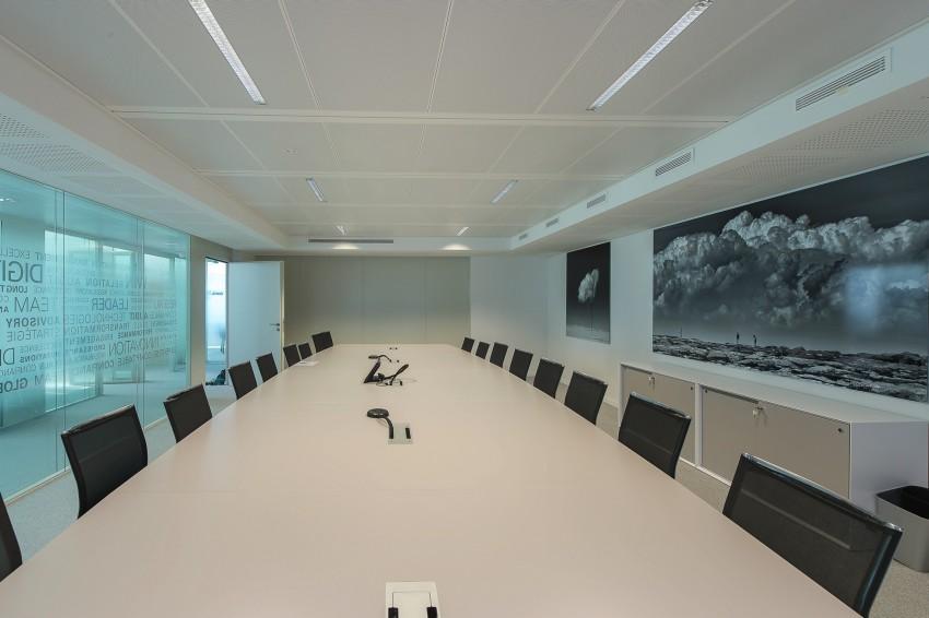 Une salle de réunion de KPMG dans la tour Echo - ONSIT Thomas viriot