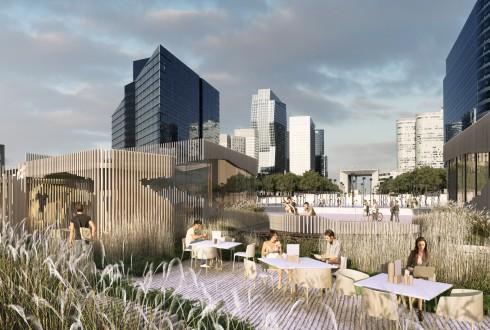 Le projet Oxygen - Stephane Malka architecte - archirendering