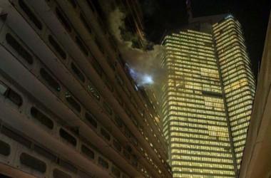 Un violent incendie ravage un appartement de la résidence des Damiers Champagne