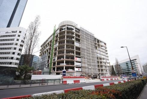 La rénovation de l'immeuble Ampère e+ le 21 mars 2016 - Defense-92.fr