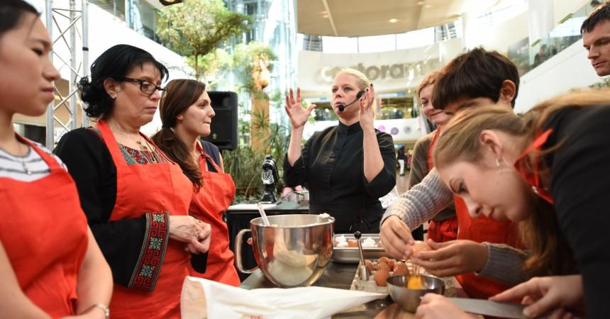 Emilie Lang vient donner des cours de cuisine aux 4 Temps
