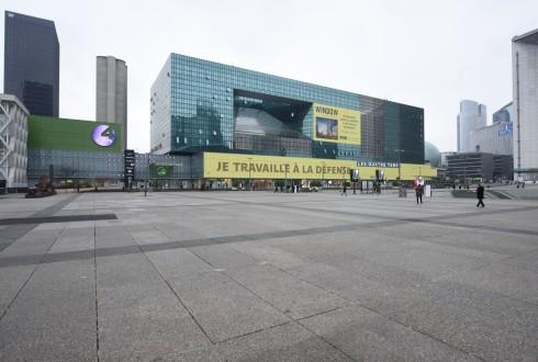 Les travaux de l'immeuble Window le 1er mars 2016 - Defense-92.fr