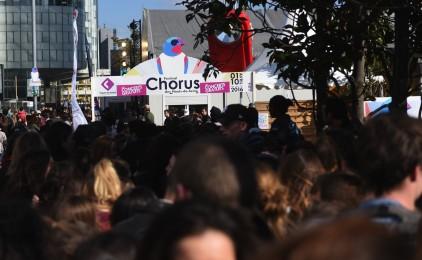 Chorus à La Défense, c'est fini