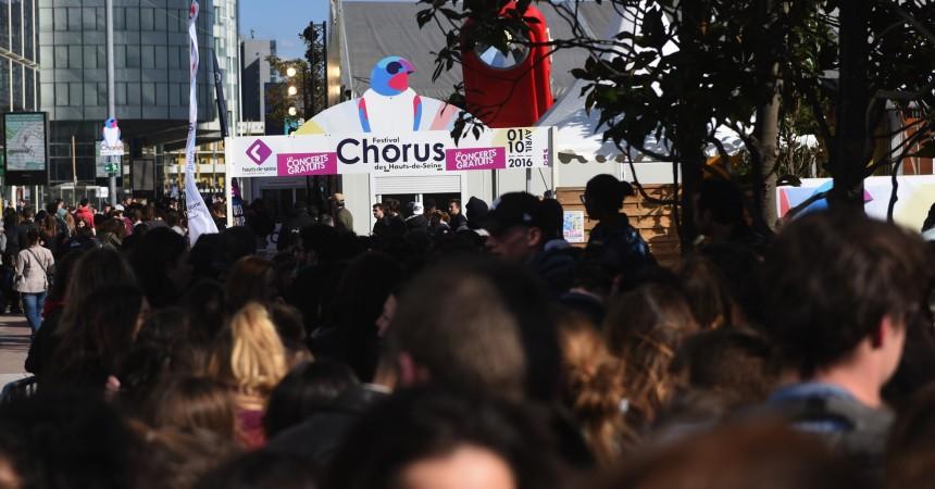 Chorus a attiré cette année 40 500 spectateurs