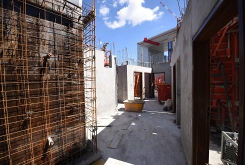 Le chantier Sky Light le 18 avril 2016 - Defense-92.fr