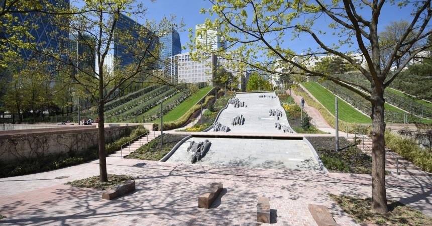 Après dix-huit mois de travaux le parc Diderot réouvre