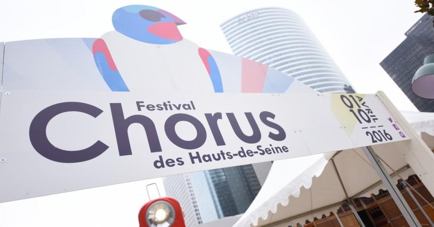 Avec Chorus c'est dix jours de musique à La Défense