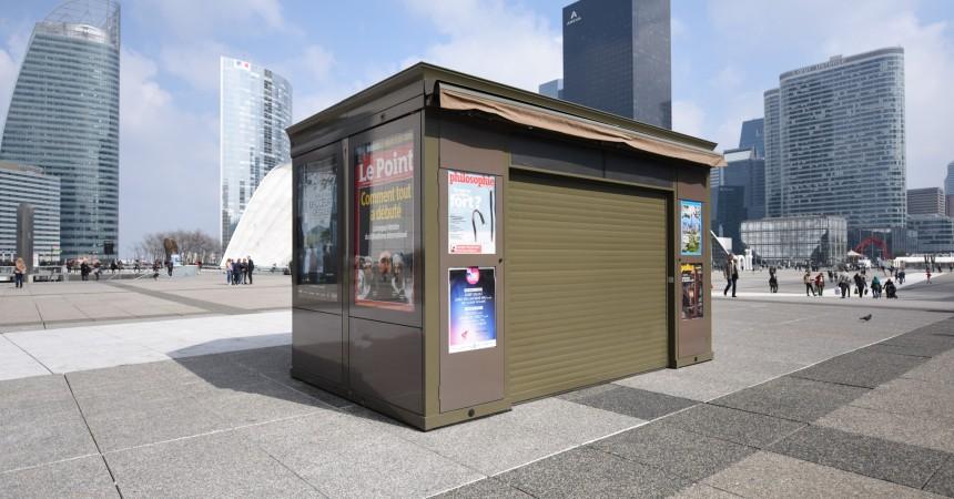 La Défense va avoir le droit à son kiosque à journaux