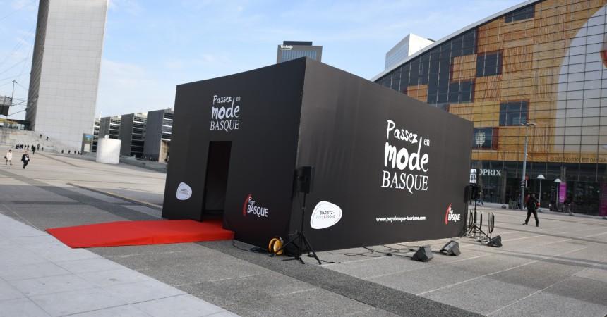 Le Pays Basque et «sa box» s'invitent à La Défense
