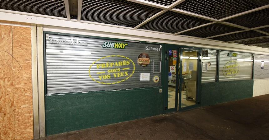 Le Subway du quartier des Saisons est définitivement fermé