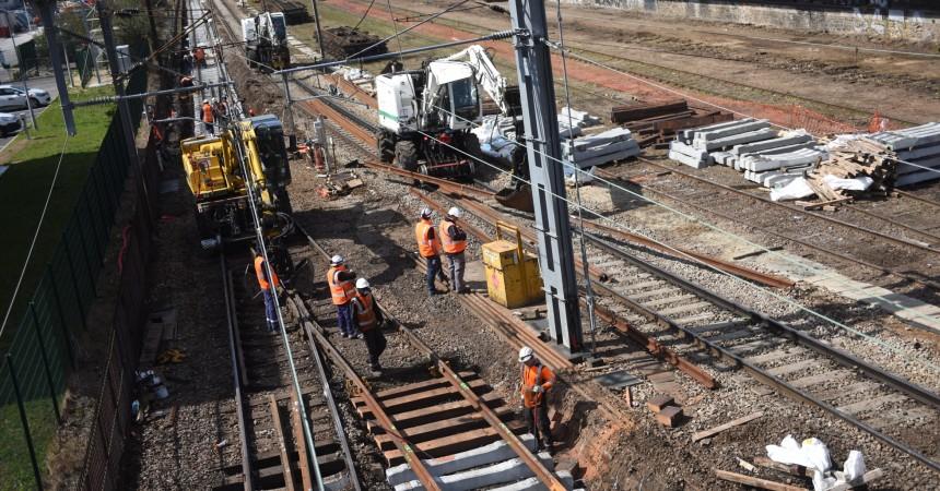 Un mois de travaux va perturber le trafic sur la ligne L du Transilien