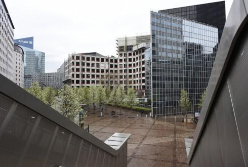 Les travaux de rénovation de l'immeuble du cours Michelet le 11 avril 2016 - Defense-92.fr