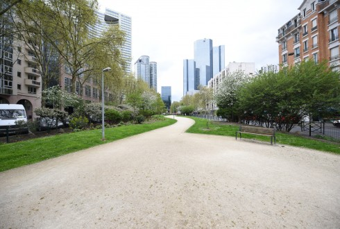 L'avenue Gambetta en avril 2016 - Defense-92.fr