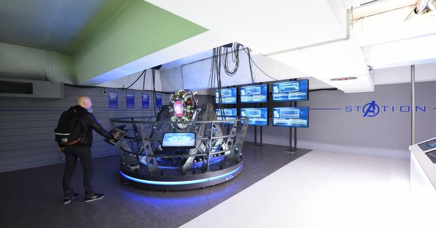 Les Avengers installent leur base secrète S.T.A.T.I.O.N. sous le parvis de La Défense