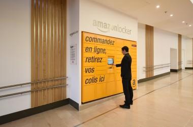 55e5f1f13e084 Deux nouvelles bornes de retraits Amazon Locker aux 4 Temps