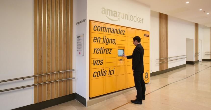 Deux nouvelles bornes de retraits Amazon Locker aux 4 Temps