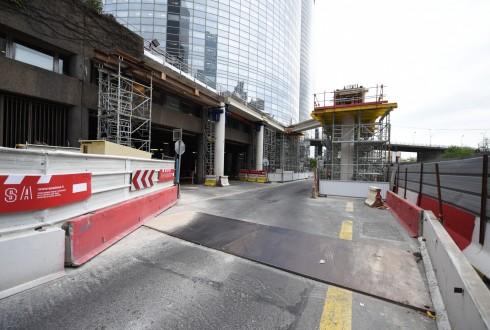 Le chantier de la tour Trinity le 9 mai 2016 - Defense-92.fr