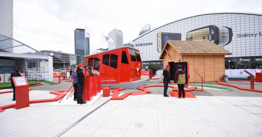 La Suisse s'invite sur le Parvis de La Défense