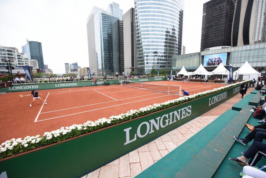 Le tournoi Longines Future Tennis Aces à La Défense en mai 2016 - Defense-92.fr