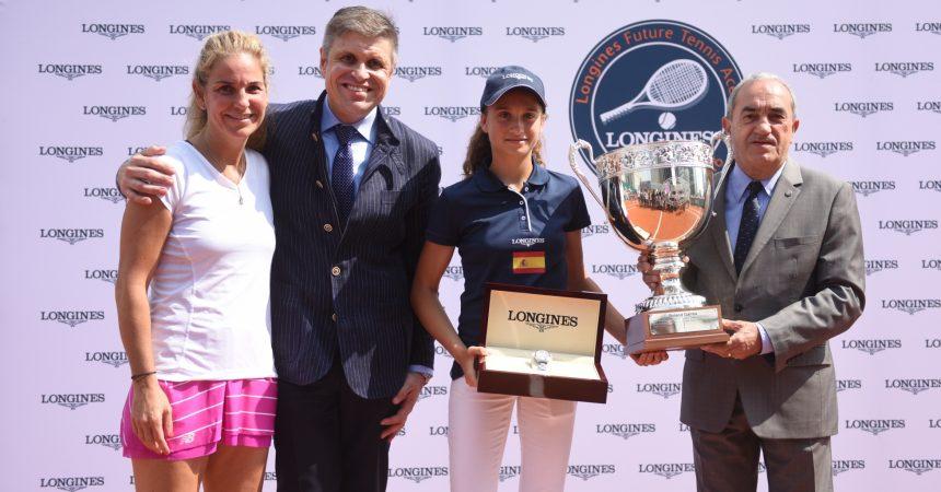 María Dolores López Martinez remporte le tournoi Longines Future Tennis Aces 2016