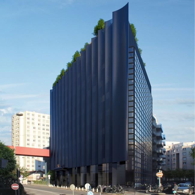 Le projet de rénovation de l'immeuble le Triangle - DR / 6ème Sens
