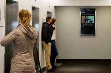 Les écrans ECN vous tiennent informés en temps réel de l'Euro 2016