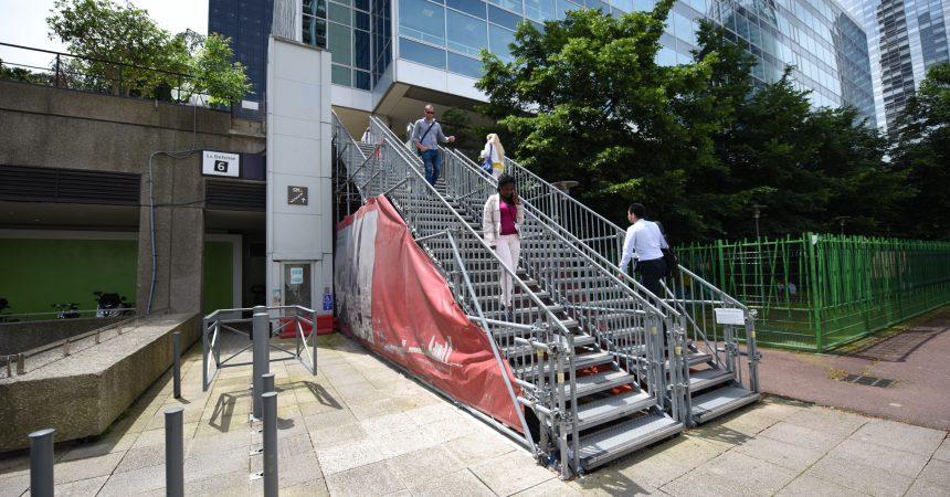 L'Epadesa va améliorer l'accessibilité pour contourner la galerie de la Coupole