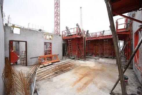 Le chantier Sky Light le 6 juin 2016 - Defense-92.fr