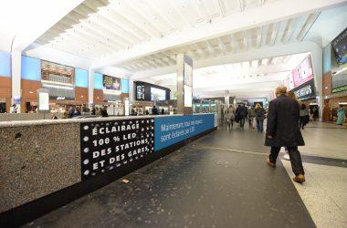 La gare de La Défense dernière du réseau de la RATP à passer à l'éclairage LED