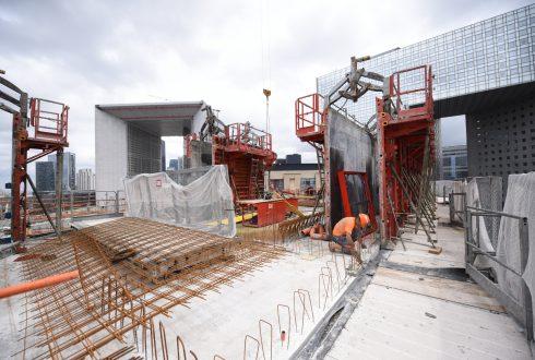 Le chantier Sky Light le 13 juin 2016 - Defense-92.fr