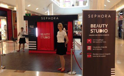 Le roadshow beauty studio de Sephora de passage aux 4 Temps