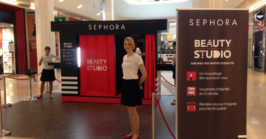 Le roadshow beauty studio de Sephora de passage aux 4 Temps