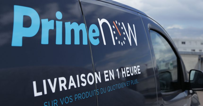 Avec Amazon Prime Now faites livrer vos courses en une heure