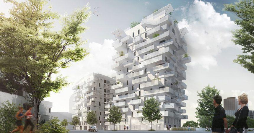 Nacarat va lancer la construction d'une résidence de 128 logements sur le Croissant à Nanterre