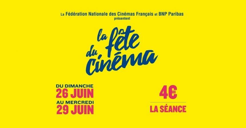 Du 26 au 29 juin c'est la fête du cinéma à l'UGC des 4 Temps