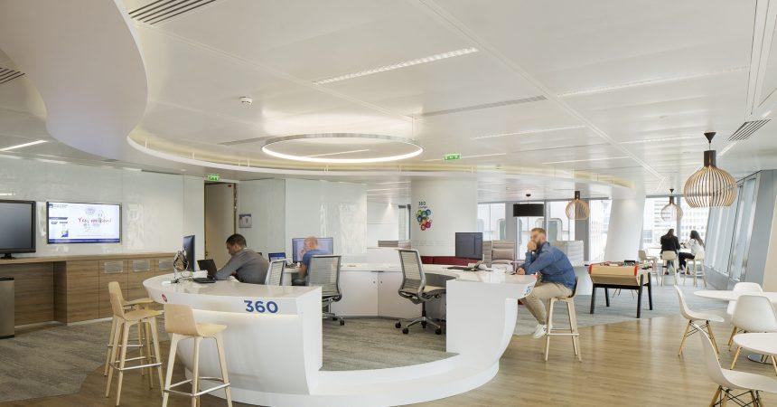 Majorelle aménage les nouveaux bureaux d'AXA IM et AXA Life dans la tour Majunga