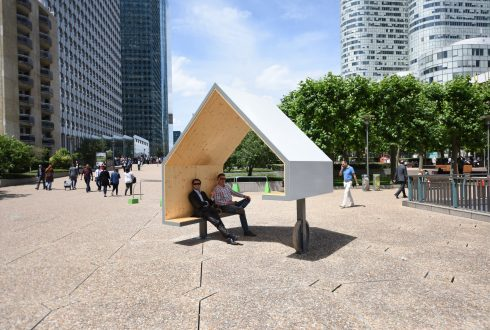 """Le mobilier """"Les Refuges de La Défense"""" - Defense-92.fr"""