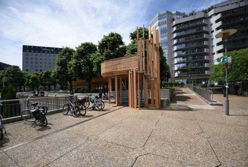 """Le mobilier """"La rue des Utopies"""" - Defense-92.fr"""