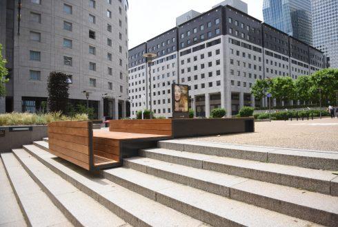 """Le mobilier """"Plateformes de travail urbaines"""" - Defense-92.fr"""