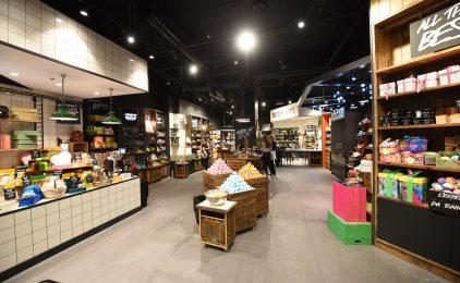 Les 4 Temps : Lush déménage et ouvre sa plus grande boutique de France