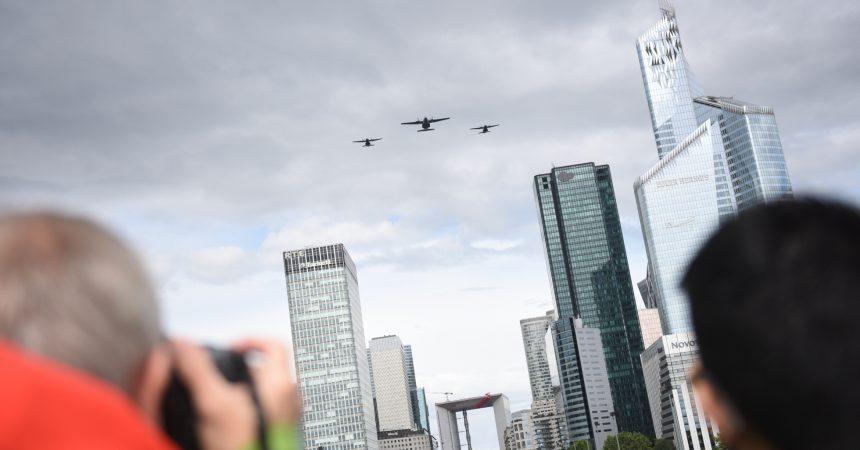 Le défilé aérien du 14 juillet a encore attiré des centaines de curieux et passionnés