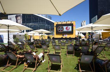 Le Tour de France ouvre avec les 4 Temps le premier Fan Park à La Défense