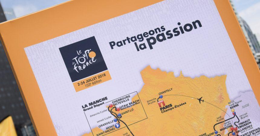 Cette année le Tour de France passe par La Défense