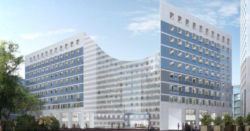 Vinci Immobilier lance les travaux de rénovation de l'immeuble Belvédère