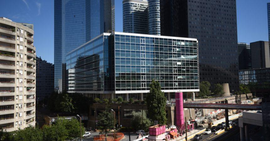 Le nouveau look de l'immeuble CB3 se dévoile ce jeudi