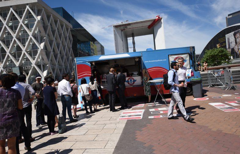 Les food trucks sont de retour à La Défense
